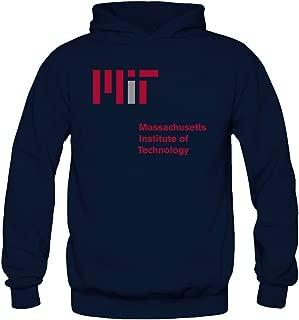TMILLER Women's Massachusetts Institute Of Technology Mit Hoodied Sweatshirt