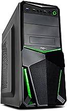 Nox Pax - Caja de computadora, Color Negro y Verde