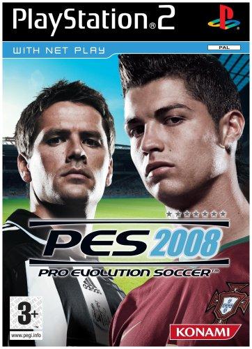Pro Evolution Soccer 2008 (PS2) [Importación inglesa]