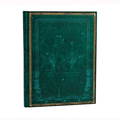 Paperblanks - Old Leather Classics - Faux Leder Viridiangrün - Notizbuch Ultra Liniert
