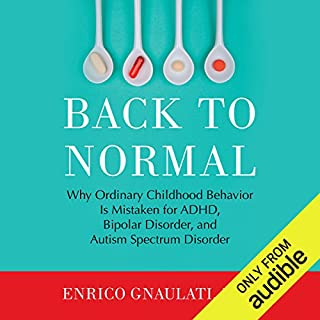 Back to Normal audiobook cover art