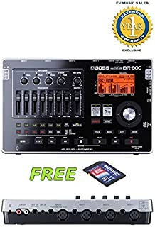 Boss BR-800 Digital Recorder with a Free Patriot 32GB SD Card and 1 Year Free Extended Warranty