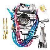 KIPA Carburetor For YAMAHA WR400F 1998-2000 WR426F 2001-2002 WR450F 2003-2011 YZ400F 1998-1999 YZ426F 2001-2002 YZ450F 2003-2009 Replace for KEIHIN Flat side FCR40 FCR 40mm