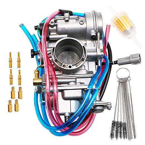 KIPA Carburetor For YAMAHA WR400F 1998-2000 WR426F 2001-2002 WR450F 2003-2011 YZ400F 1998-1999 YZ426F 2001-2002 YZ450F 2003-2009 Replace for KEIHIN Flat side FCR40 FCR 40mm
