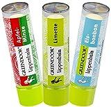 Lippenpflege-Set FRESH: Apfel Minze, Limette,...