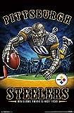 Pittsburgh Steelers - End Zone Poster Drucken (55,88 x