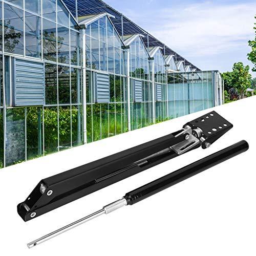Zwindy Abridor de Ventana de Invernadero, abridor de ventilación automático de aleación de Aluminio, antioxidante con resortes para el hogar de Invernadero