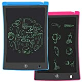 KURATU 2 Pack LCD Writing Tablet, 8.5 inch Electronic Drawing Pads for Kids,...