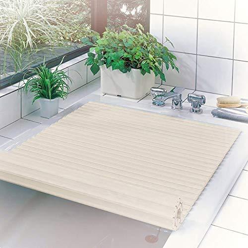Badkuip Badkuip Cover Stofdichte Plaat Vouwen Badkuip Isolatie Cover PVC Beugel Badkuip Lade Badkamer Shelf-PVC -1,2 cm Dikke 75 * 140 * 1.2cm