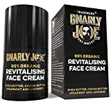 Gnarly Joe Revitalising Face Cream for Men, 90% Organic. Shea and Coconut Butter
