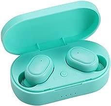 Barcley Wireless in-Ear Headset,TWS Earphone Blueteeth 5.0 IPX5 Waterproof Stereo Blueteeth V5.0 Earphones, Noise Reduction Rechargable Wireless Headphone Earbuds with Charging Box (Bule)