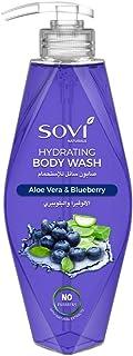 Sovi Naturals - Aloe Vera and Blueberry Hydrating Body Wash - 400 ml
