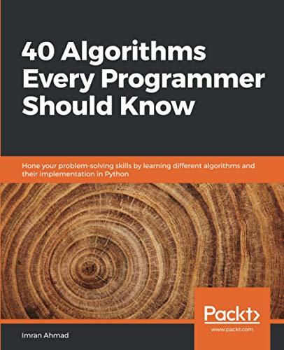 40 Algorithms Every Programmer S...