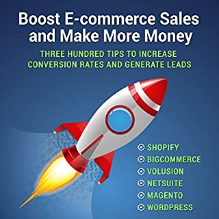 Boost E-commerce Sales and Make More Money audiobook cover art