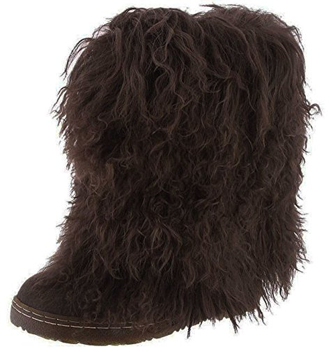 BEARPAW Women's Boetis Chocolate Boot Size 8
