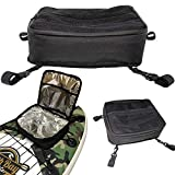 South Bay Board Co. - ISUP & Kayak Deck Cooler Bag with Mesh Top & Interior Insulated Cooler Storage - Water-Resistant & Holds 10 Cans & Ice - Securing Clip Straps - Great for Food, Drinks & Bait