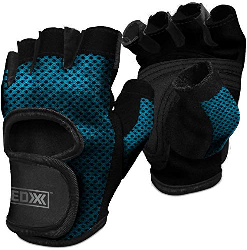 EDX Workout Gloves for Women for The Gym, Weightlifting, Exercise, Training, Fitness, Crossfit & More | Blue