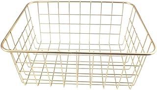 de bain Support d'angle de salle pour salle de bain Support de rangement Panier de rangement en fil métallique Porte organ...