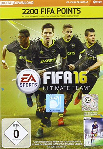 FIFA 16 - 2200 FUT Points (Code in der Box)