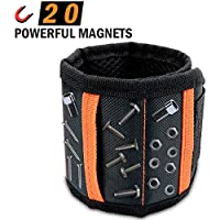Vibola Husband Magnetic Wristband with 20 Powerful Magnets