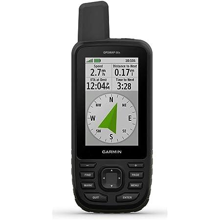 "Garmin GPSMAP 66s navegador 7,62 cm (3"") TFT De mano Negro 230 g - Navegador GPS (Mundo, 7,62 cm (3""), 240 x 400 Pixeles, TFT, 63,5 x 38,1 mm (2.5 x 1.5""), Flash, Tarjeta de memoria)"