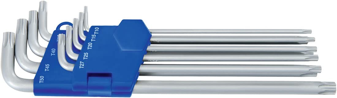 Award-winning store Heytec Los Angeles Mall 50813498280 Torx-Wrench of L-Shaped Silver Black S Blue