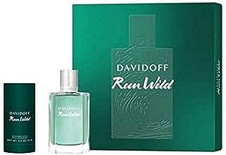 DAVIDOFF Men's Run Wild Eau De Toilette Perfume, 100 ml + Deo Stick, 75 ml Set