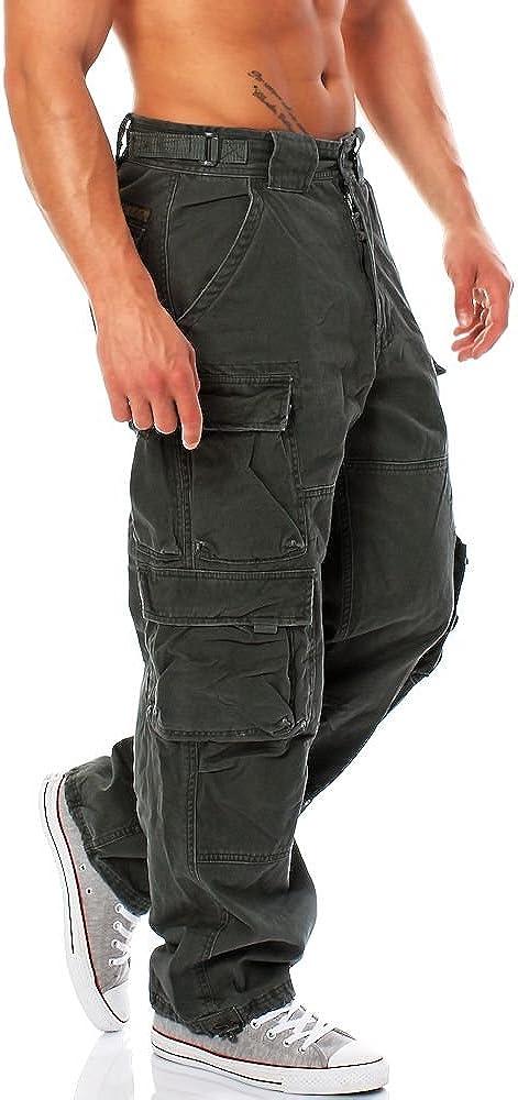 JET LAG 007 large Cargo Pant Hommes div.Couleurs (28-44) incl.Fabfive Keychain Camo Urban Chic