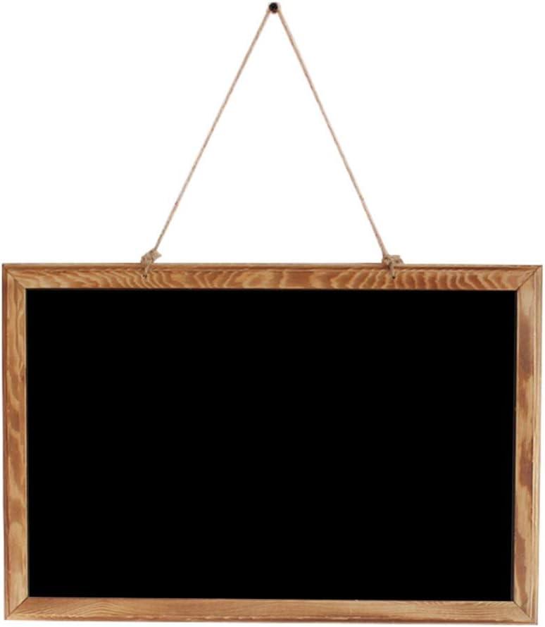 LIANGJUN Message Board Chalkboards Retro Rectangle Mini Liquid C