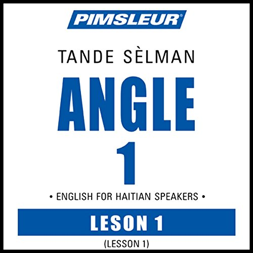 ESL Haitian Phase 1, Unit 01 audiobook cover art