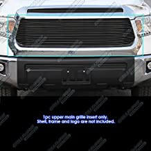 APS Compatible with 2014-2017 Toyota Tundra Main Upper Black Billet Grille Insert T85985H