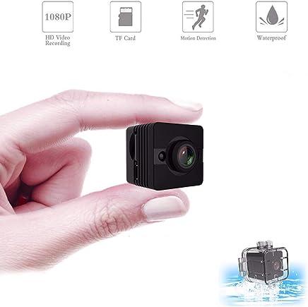 MUTANG Mini Spy Camera, Piccola videocamera Portatile 1080P Impermeabile con Visione Notturna e rilevamento del Movimento, Telecamera di Sicurezza Wireless Interna/Esterna, Telecamera Nascosta perfe - Trova i prezzi più bassi