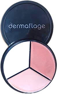 Luminizer Highlighter Palette, Illuminator Makeup Cream for a Natural, Dewy Look, Lit from Within by Dermaflage, 10g/.35oz