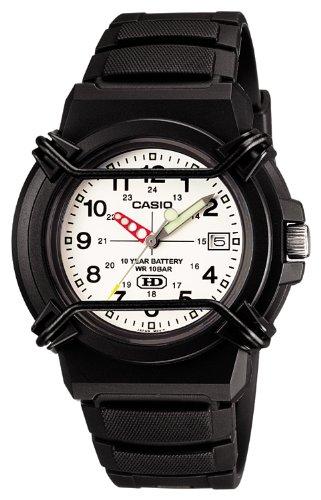 [カシオ] 腕時計 スタンダード HDA-600B-7BJF ブラック