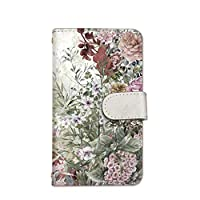 seventwo Pixel 4a 5G 4a 5G スマホケース 手帳型 携帯ケース カードホルダー ピクセル フォーエー ファイブジー 【C.ホワイト】 花柄 水彩画 flower_146