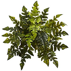 """for Holly Fern Artificial Silk Plant Home Decoration 24"""" Set of 2 Floral Décor Home & Garden"""