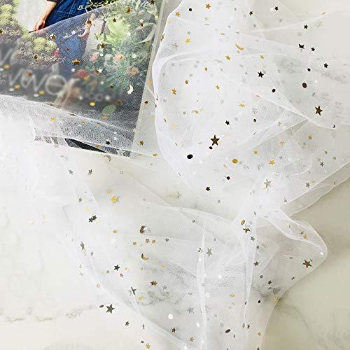 CAIJJ WLQ achtergrond doek - ster pailletten mesh achtergrond doek - servet tafelkleed - meisje poseren schieten rekwisieten