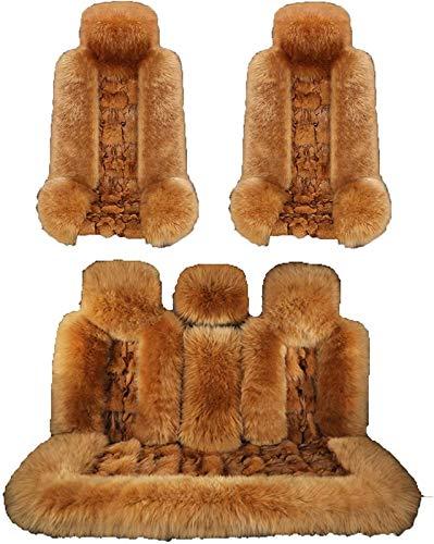 Asiento de coche, funda protectora Compatible con el cojín del asiento del coche de invierno, Cubie