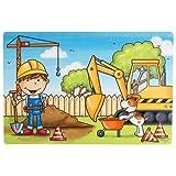 Ritzenhoff und Breker Platzmatte Bauarbeiter Motiv für Kinder