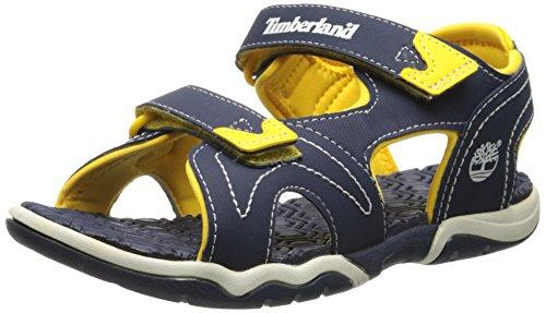 Timberland Active Casual Sandal FTK_Adventure Seeker 2 Strap Sandal, Unisex-Kinder Sandalen, Blau (BLUE), 37 EU