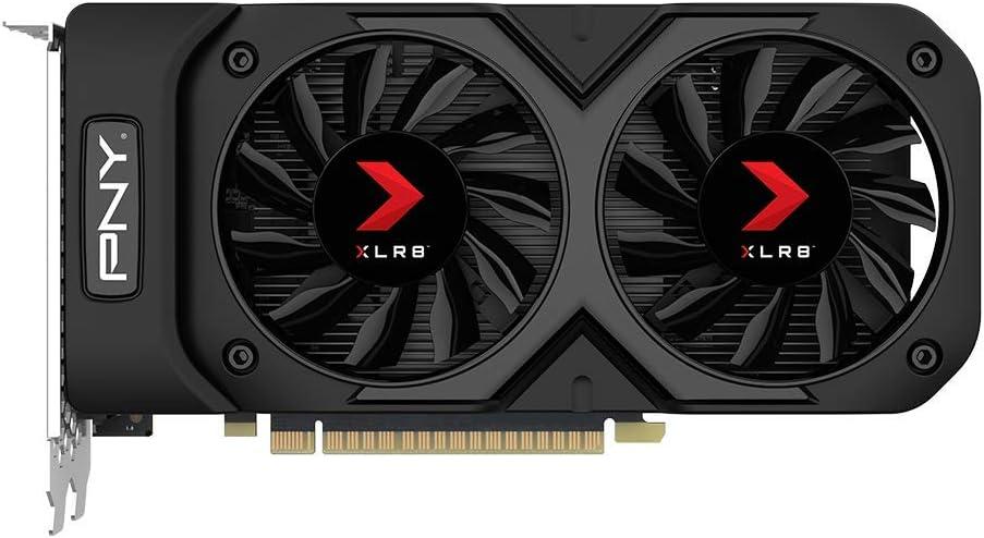 PNY GeForce GTX 1050 Ti 4GB XLR8 Gaming Overclocked Edition