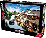 Anatolian Puzzle - Xitang Ancient Town, 2000 Piece Jigsaw Puzzle, Code: 3945, Multicolor
