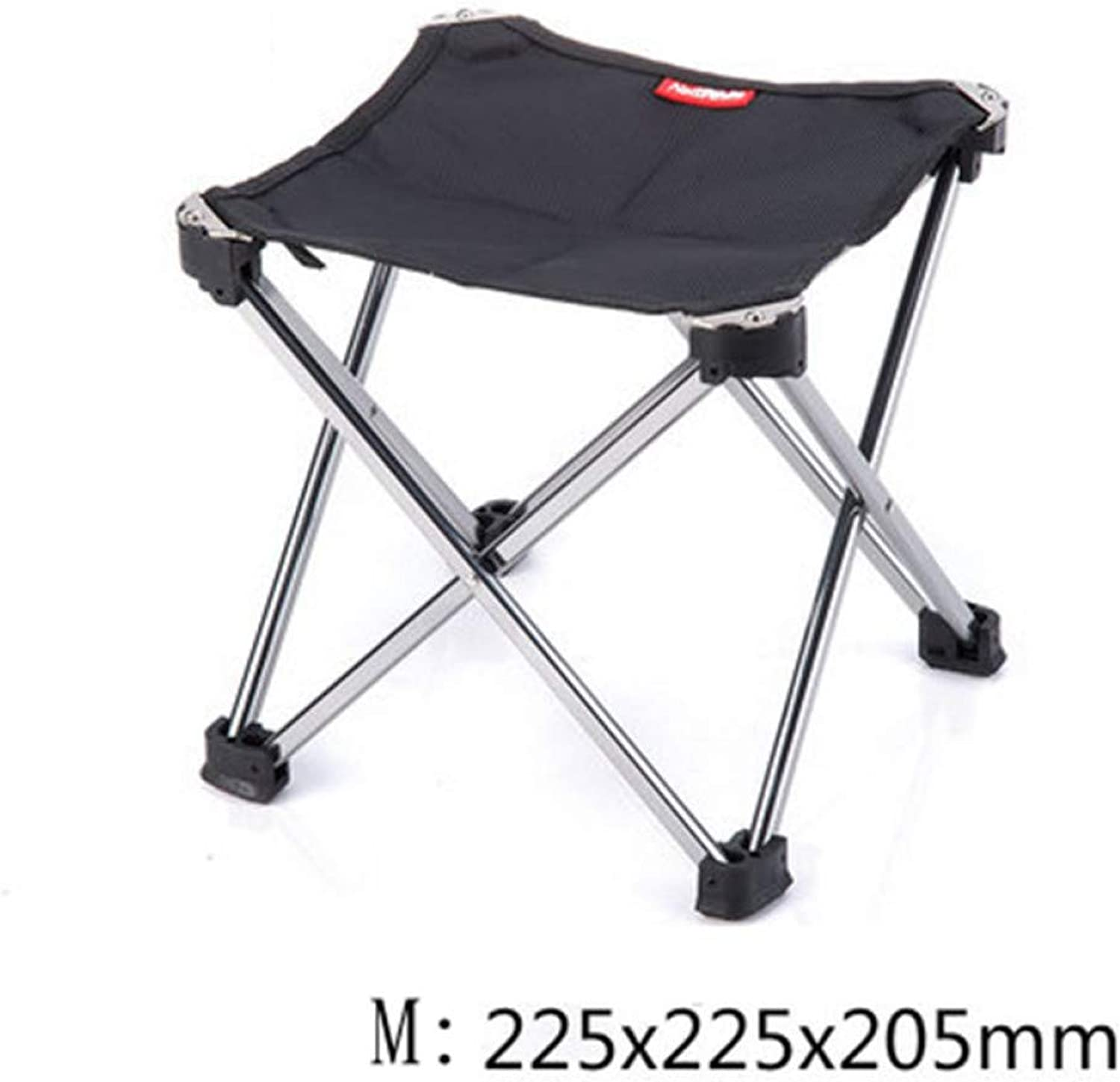 LFJXBF Outdoor Foldable Folding Ultra Light Fishing Picnic BBQ Garden Chair Tool Square Camping Chair