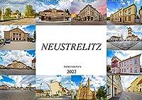 Neustrelitz Impressionen (Wandkalender 2022 DIN A2 quer): Zwoelf einmalige Bilder der Residenzstadt Neustrelitz (Monatskalender, 14 Seiten )