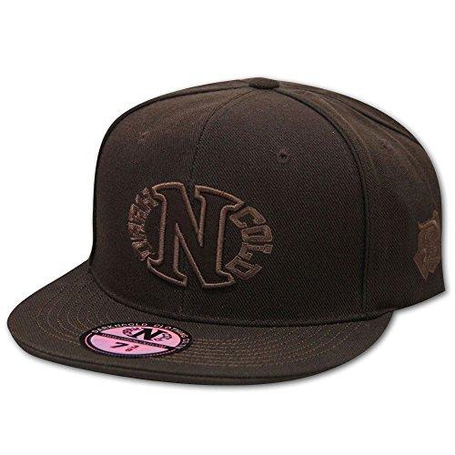Dark N' Cold Egg Logo Baseball Cap Brown