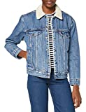 Levi's Ex-BF Sherpa Trucker Chaqueta vaquera, Addicted To Love, XXS para Mujer