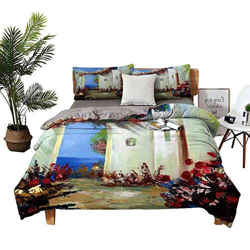 New DRAGON VINES Four-Piece Bedding Sheets Full Set Pillow sham European Boy Girl Kid W85 xL85