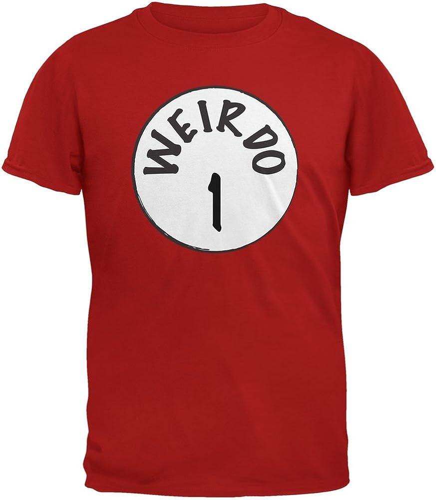 Halloween Weirdo 1 One Red Youth T-Shirt