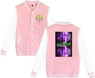 X Q X Baseball Uniform Jacket Sport Coat JeffHardy Cotton Sweater for Women Men Boy Girls