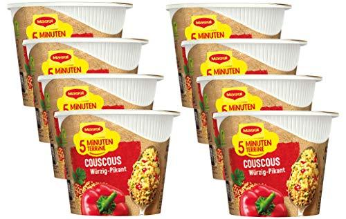 Maggi Magic Orient Couscous leckeres Fertiggericht, Instant-Nudeln, würzig-pikant, mit Gemüse verfeinert, 8er Pack (8 x 63g)